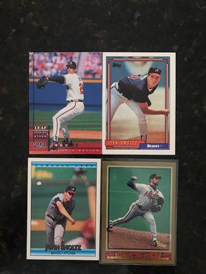 John Smoltz Atlanta Braves Hall of Famer Baseball Cards for Sale in Kissimmee, FL