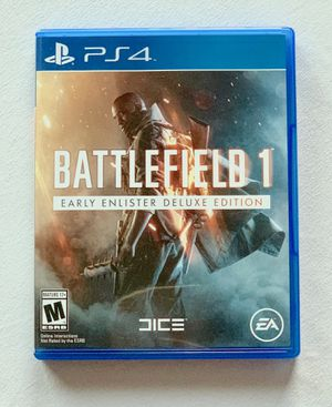 Battlefield 1 PS4 for Sale in Nashville, TN
