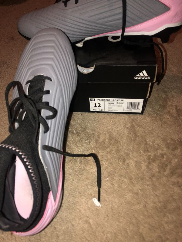 Adidas Predator soccer cleats size 12