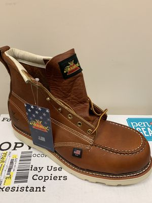 "Thorogood 6"" Steel Toe Work Boots $160 OBO for Sale in Hemet, CA"
