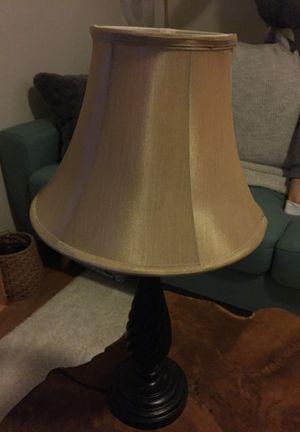 Lamp w/ smart light bulb for Sale in Portland, OR