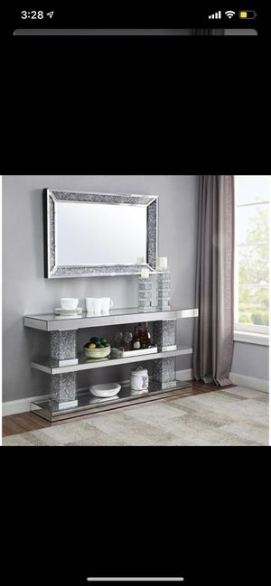 MIRROR AND CONSOLE TABLE BY ACME FURNITURE for Sale in Queens, NY