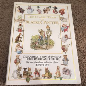 The Classic Tales Of Beatrix Potter for Sale in Salt Lake City, UT