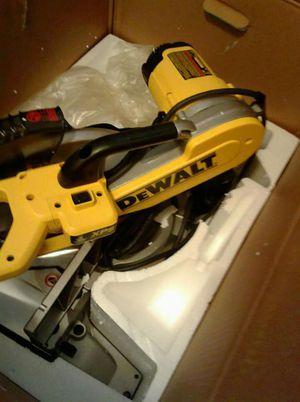 "DEWALT 12"" double bevel compound miter saw for Sale in Salt Lake City, UT"