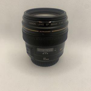 Canon 85mm Prime Lens for Sale in La Puente, CA