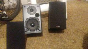 Polk audio 6inch book shelf speaker's sound great... for Sale in Tempe, AZ