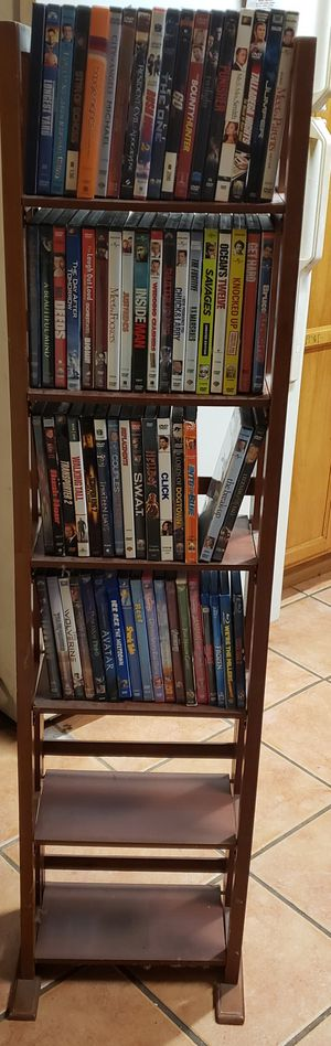 Dvds & stand for Sale in Tavares, FL