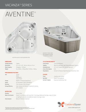 Caldera Aventine 2 person hot tub for Sale in Palmetto Bay, FL