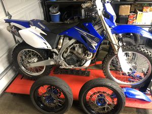 2009 Yamaha wr450f street legal for Sale in Spanaway, WA