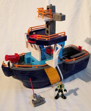 Imaginext Coast Guard Ship w/ Figure for Sale in Hialeah Gardens, FL