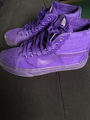 Vans shoes ( Purple ) for Sale in San Antonio, TX