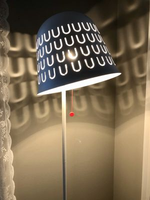 White IKEA floor lamp for Sale in Columbus, OH