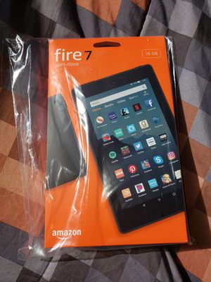 Amazon Tablet Fire 7 with Alexa for Sale in The Bronx, NY