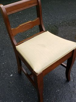 Vintage Sewing Machine Chair With Storage for Sale in Germantown,  MD