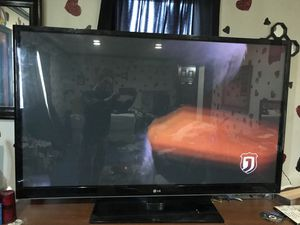 Tv 60 inch LG good condition , just needs a universal remote for Sale in Lakewood, OH
