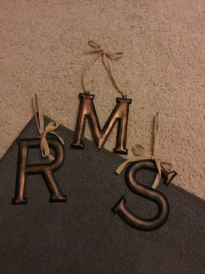 Metal letters for Sale in Richmond, CA