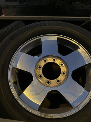 "20"" factory ford super duty wheels and tires for Sale in San Juan Capistrano, CA"