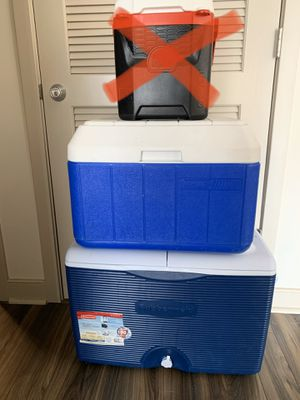 Coolers - coleman igloo rubbermaid for Sale in Columbia, MD