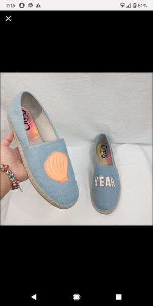 Circus By Sam Edelman Leni Shell Yeah Espadrilles for Sale in Charlotte, NC
