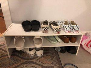 shoe shelf for Sale in Hollywood, FL