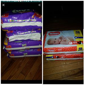 Luvs and Huggies Diapers for Sale in Bolingbrook, IL