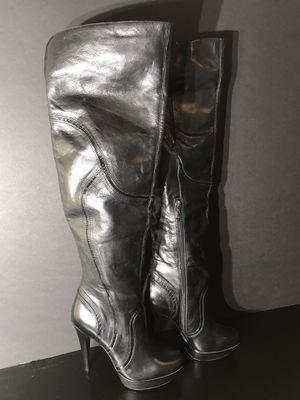 NEW - Aldo Velardi High Black Leather Boots size 39 (US 8.5) for Sale in La Mesa, CA