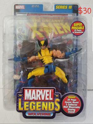 WOLVERINE Marvel Legends X-Men Toy Biz action figure NEW for Sale in Covina, CA
