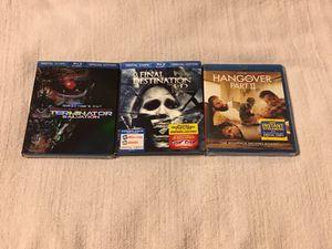 3 New Blu-Ray DVD Bundle for Sale in Newark, NJ