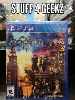 PS4 Kingdom Hearts 3 NEW for Sale in Redondo Beach, CA