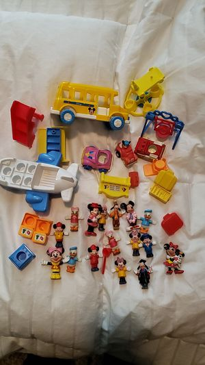 Vintage Mickey and Minnie mouse Disney lot toys for Sale in San Antonio, TX