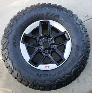 2018 Jeep Wrangler Rubicon Wheels & Tires for Sale in Anaheim, CA