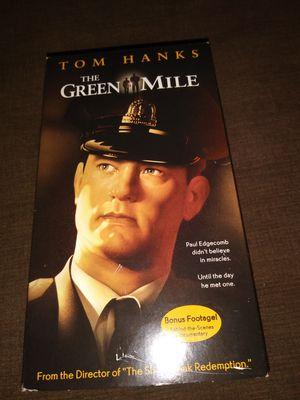 Green Mile vhs for Sale in Hudson, FL