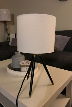 Telescope lamp nightlight small lamp white and black lamp for Sale in Whittier, CA
