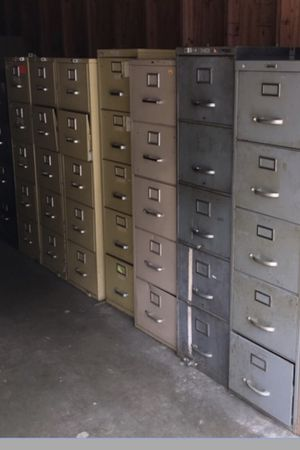 Used Metal Filing cabinet for Sale in Glendale, CA
