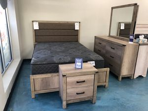 Rustic Bedroom Furniture Set! for Sale in Albuquerque, NM