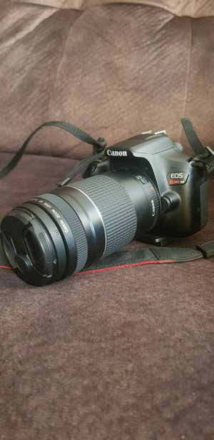 Barely used Canon EOS T6 rebel with accessories including different lenses and filters for Sale in Chicago, IL