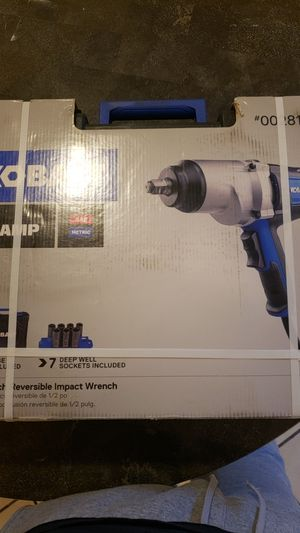 Kobalt 1/2inch reversible impact wrench for Sale in Philadelphia, PA