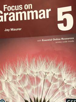 Focus On Grammar 5. Jay Maurer. for Sale in Albuquerque,  NM