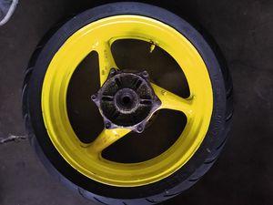 Honda CBR f4i rear wheel for Sale in Garden Grove, CA