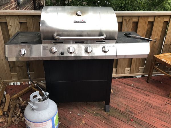 Gas Grill and TWO propane tanks