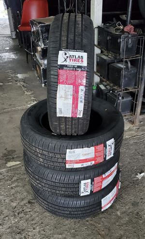 205/65/15 new tires for $280 with balance and installation we also finance {contact info removed} ask for Dorian 7637 airline dr houston TX 77037 for Sale in Houston, TX