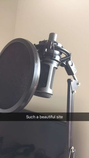 Audio technica at2020 mic for Sale in Prineville, OR