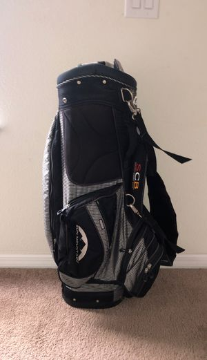 Sun Mountain Speed Cart bag with cooler picker & umbrella for Sale in Ruskin, FL