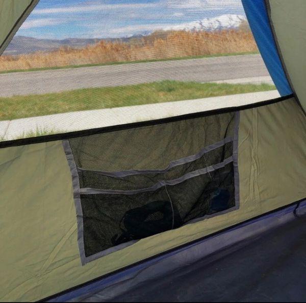 Columbia Mt. Logan backpacking tent.