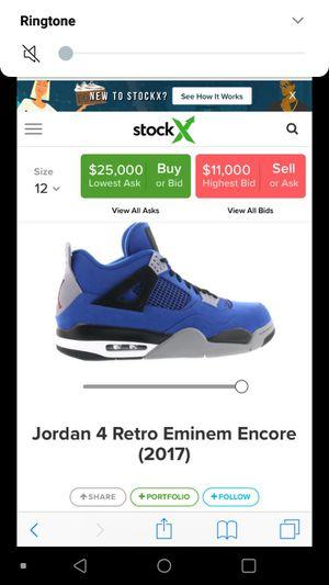 Special Edition Eminem Jordan Retros for Sale in Evansville, IN