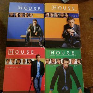 House DVD Season 1-4 for Sale in Newberg, OR