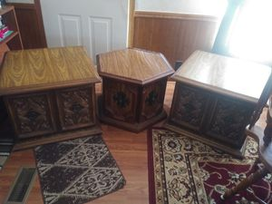 Coffee table & end tables for Sale in Greer, SC