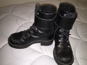 Ladies Harley Davidson Motorcycle Boots 6.5 for Sale in Pflugerville, TX