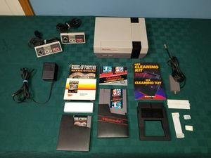 Clean NES Nintendo Bundle with games Controllers for Sale in Stow, OH