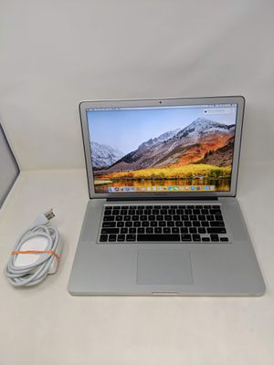 "Apple Macbook Pro 15""/i7/16GB/256GB SSD/High Sierra for Sale in Glendale, AZ"